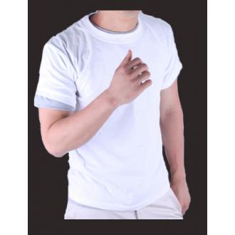 30수*라운드반팔(50장단위)100%국산면티.흰면티.흰색면티.흰티.단체티(나염인쇄)주문 제작