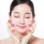 페이스 롤러/얼굴 마사지기/미용기구