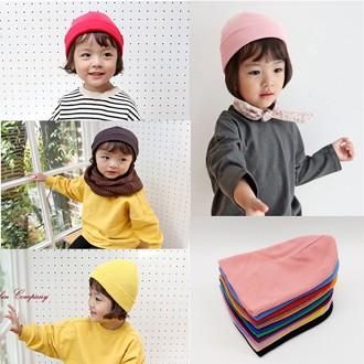 아동비니 면100 비니모자 3세-아동 국산 20가지 다양한색상