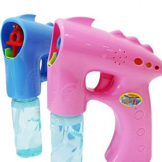 미르 KC인증 자동버블건/투명LED비누방울총/리필 물총