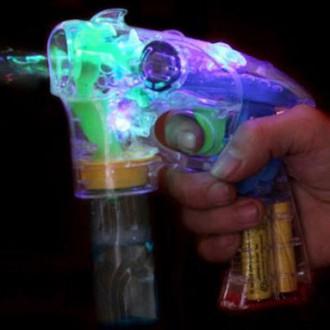 미르 KC인증 자동버블건/투명LED 비누방울총/리필물총