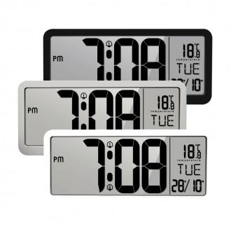 [루키]LCD 대형 벽걸이 탁상시계 사무실 업소 벽시계