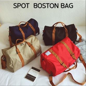 여우창고 가심비탑 패션 브라이트 스팟 보스턴백 가방