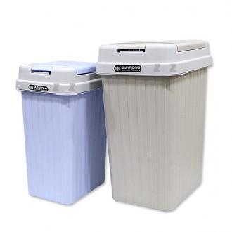 직사각 원터치 휴지통T/뚜겅휴지통/쓰레기통/화장실통