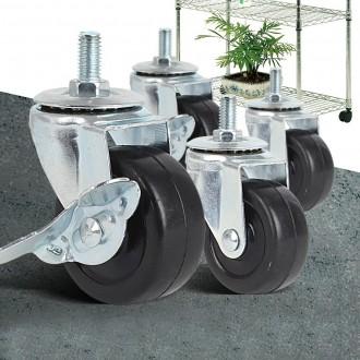 산업용 메탈랙 메탈선반 바퀴 휠