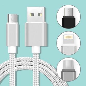 코드나인 USB고속충전케이블 아이폰 갤럭시 8핀 C타입