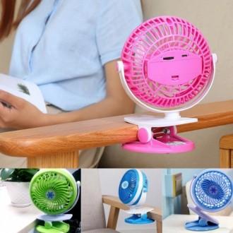 [DY커머스]충전식 집게선풍기 휴대용선풍기책상선풍기