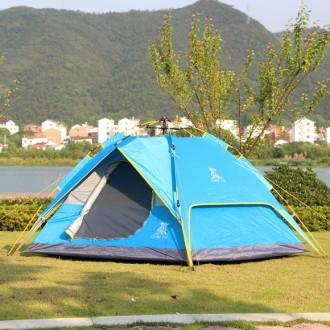 3-4인용 캠프 그늘막 오토 텐트