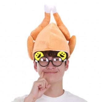 치킨통닭모자 파티용품 코믹소품 연극 인싸모자 닭