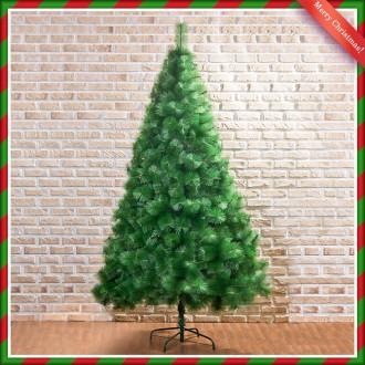 [N]240cm 고급 솔잎 크리스마스 트리 교회 관공서