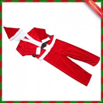 [N]고급형 어린이 산타복(5세내외) 산타복세트
