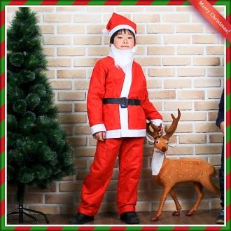 [N]일반 산타복(11세내외) 산타의상 산타복세트