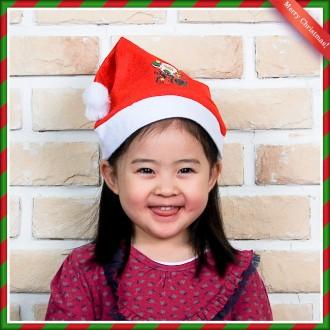 [N]캐릭터 어린이 산타모자(26cmx37cm) 산타모