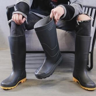 [도매신] 남자신발 장화 낚시 레인부츠 작업화 RAIN5