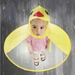 오리우비모자 모자우산 아동우산 어린이우산 우비