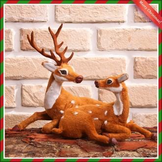[N]33cm 크리스마스 인테리어용 루돌프 사슴 장식