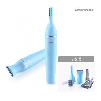 제모기/구렛나루/면도기/눈썹정리/대우 4in1 전동제모기