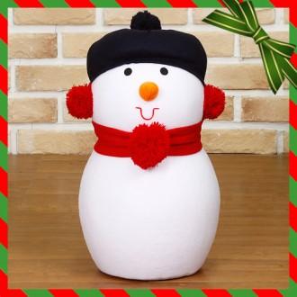 [N]크리스마스 인테리어 장식 눈사람 인형(34cm)