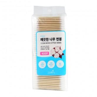 면봉/지퍼백/깨끗한 나무면봉 포리백/위생면봉/귀이개