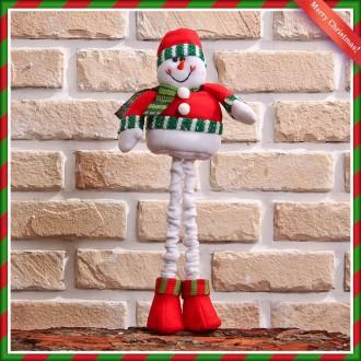 [N]빨강모자키다리눈사람(16cmx43cm) 성탄절선물