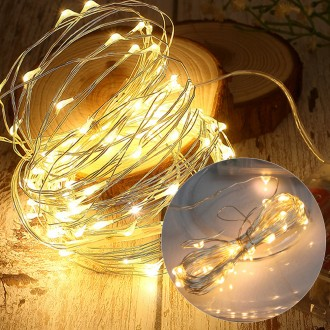 LED반딧불전구3M30구(점등)전구색 트리조명 전구 장식