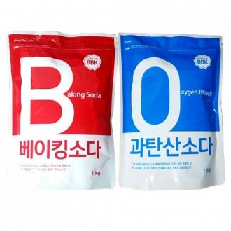 버블킹 베이킹소다 과탄산소다 1kg 대용량 표백제 세