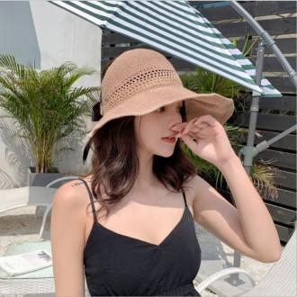 [앙상블] 돌돌이 와이어 리본 썬캡 모자/여성/모자