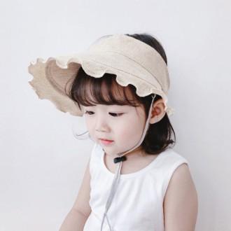 [앙상블] 아동/유아 린넨 돌돌이 썬캡 모자/여름 모자