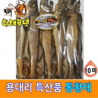 명품 용대리 통황태 10미 대(42-44cm) 황태 통황태