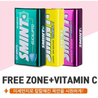 강력한 구취제거 SMINT 스민트 12개 1박스