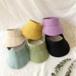[앙상블 아동/유아 칼라 면 썬캡 모자/썬햇/여름 모자