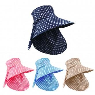 [도매큐]자외선차단 햇빛가리개 모자/자외선차단모자 썬캡 햇빛가리개모자 농사모자 햇빛차단모자