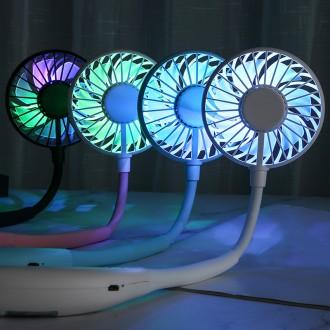 LED 넥밴드선풍기 목걸이형선풍기 휴대용선풍기