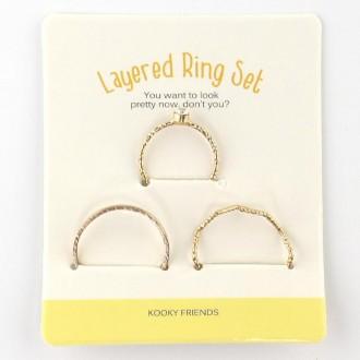 반지 반지세트 레이어드반지세트 어린이선물반지세트