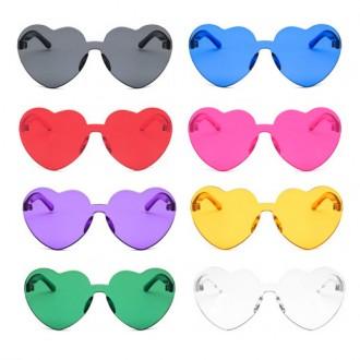 하트 선글라스 무테 인싸템 휴가 촬영 안경 투명