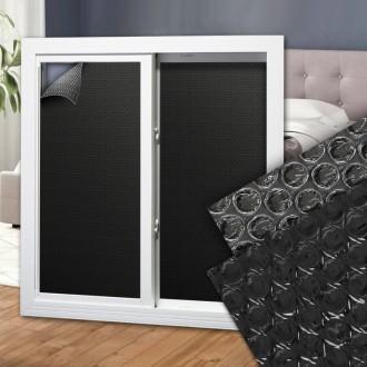 암막시트 2.5M 창문 햇빛차단 유리시트지 썬팅지 필름