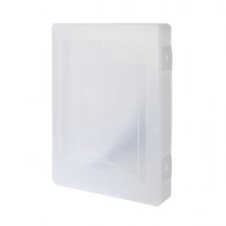사무실 대학교 학원 A4서류 투명파일케이스 대형 FC01