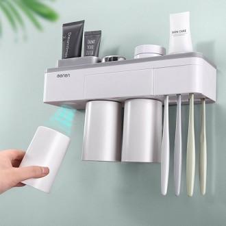 히트템 자석식 칫솔꽂이 칫솔걸이 욕실 수납홀더 2구 3구 4구