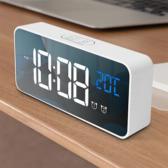 [루키] LED 뮤직 알람시계 인테리어 알람시계