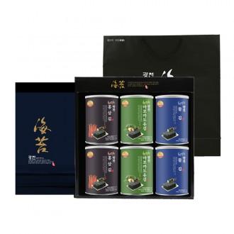 광천캔김6P 설날선물세트 김선물세트 쇼핑백증정