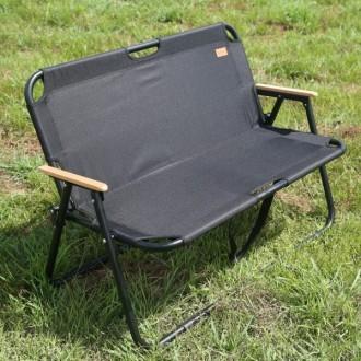 캔버라 릴렉스 폴딩 벤치 2인용 의자