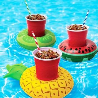 [히트템] 다양한 디자인 튜브컵홀더 컵홀더 컵튜브 수영장