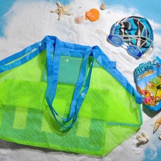 [히트템] 물놀이 망사가방 매쉬가방 모래놀이 대형