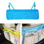 [히트템] 차량용수납포켓 차량용품 뒷자석수납함