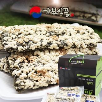 [선물세트] 남원 통찹쌀 수제 춘향애 김부각 선물세트 100gx4팩