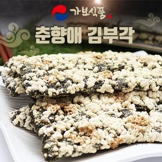 남원 춘향골 전통 특산품 춘향애김부각 명절선물 100gx4팩