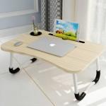 만능 폴딩 테이블 접이식 노트북테이블 컵홀더 (고급형)