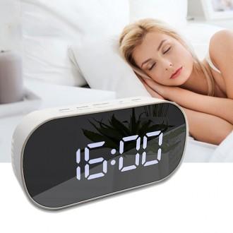 LED 미러 탁상시계 알람시계 전자시계 인테리어시계