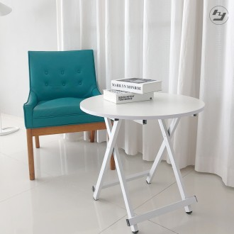 접이식 원형테이블 간이 카페 커피 티테이블 탁자