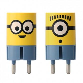 미니언즈 가정용 USB포트 충전기